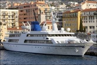 Iraq tows Saddam's luxury yacht from France