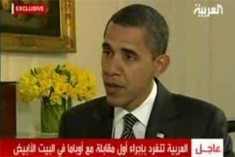 أوباما للعربية: يجب إحياء مفاوضات السلام ونمدّ يد الصداقة للمسلمين