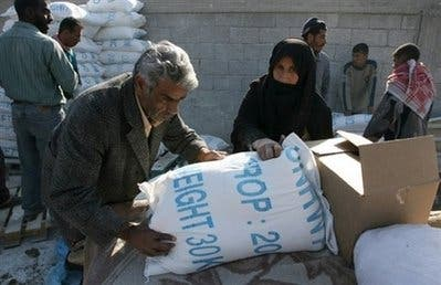 UN says Hamas stole aid packages