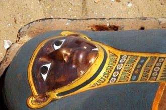 "Mummy ""prison"" found in Egypt's Saqqara"