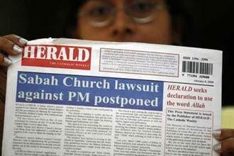 Malaysia allows Catholic paper to use 'Allah'