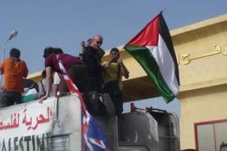 UK aid convoy Viva Palestina makes it to Gaza