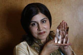 UK Muslim 'teddy-bear'  woman wins top honors