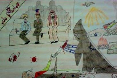 Gaza kids art proves Israeli war crimes: activist
