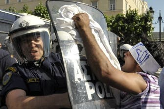 Second day of Greece clashes over Quran incident