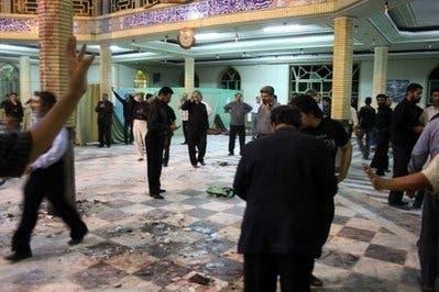 Iran hangs three over deadly mosque bombing