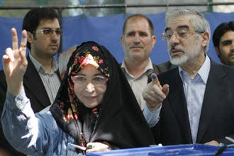 Mousavi warns of fraud as Iranians vote