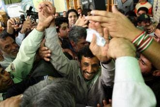 Ahmadinejad wins 69% in early count: poll chief