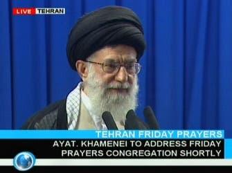 """Iran's leader labels unrest as """"enemy"""" meddling"""
