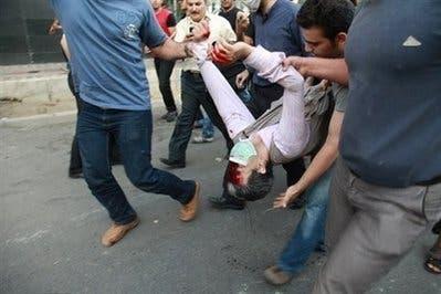 Iran riot police block parliament demontsrations