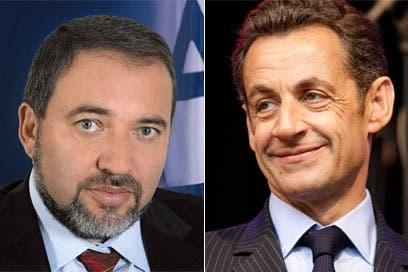 "Sarkozy urged Israel to ""get rid of"" Lieberman"