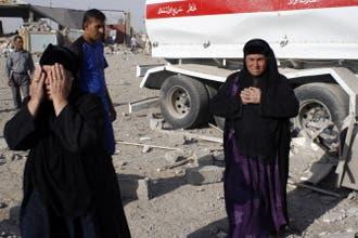 379 قتيلاً وجريحاً حصيلة 12 انفجاراً في الموصل وبغداد
