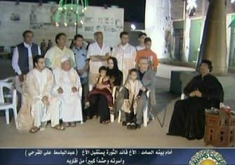 Libya's Gaddafi meets freed Lockerbie bomber