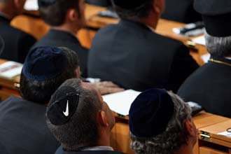 Palestinians turn Jewish skullcaps into business