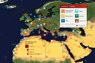 Europe looks to N.Africa Sahara for solar power