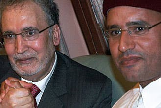Lockerbie over, time for business: Gaddafi's son