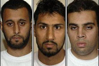 Three British men guilty of airline bomb plot