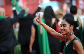 Iranian street protests hit big screen in Venice