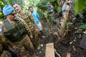 Israel hits back at Lebanon after rocket fire