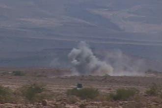 تواصل العمليات السعودية على حدود اليمن واستسلام 40 حوثياً