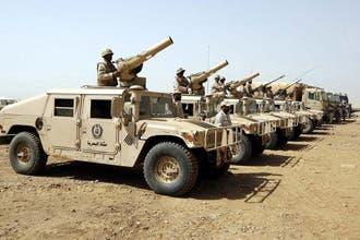 القوات السعودية تُجبر متسللين على العودة إلى اليمن