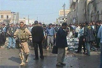 31 قتيلا و105 جرحى في تفجيرين متزامنين جنوب بغداد