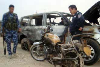 Police chief fired after Iraq suicide bombings