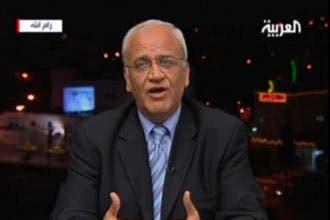 عريقات يرد على كلينتون: لا مفاوضات قبل وقف الاستيطان