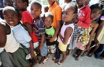 Arab aid making its way to desperate Haiti
