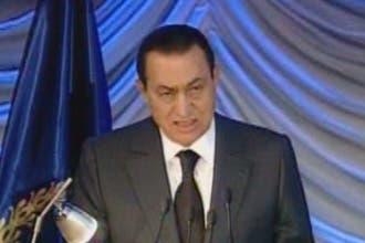 مبارك: قوى عربية واقليمية تستهدف مصر .. ولن نخضع للابتزاز