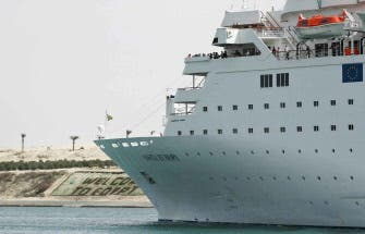 Three killed in Egypt cruise ship crash