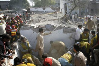 Suicide bombings in Pakistan's Lahore kill 49
