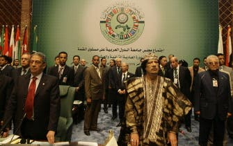 Arab leaders conclude 22nd summit in Libya