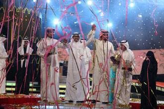 Kuwaiti poet wins Million's Poet first prize