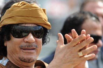 Gadhafi gives lesson on Islam to young Italians