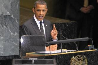 Obama pushes for a Palestinian state formation