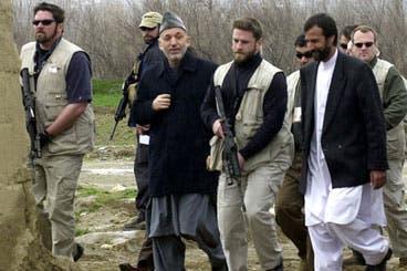 Karzai declares next step in disbanding security firms
