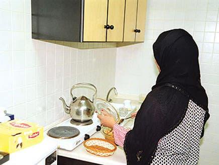 بحريني وزوجته يحبسان خادمتين آسيويتين 6 أيام في الحمام