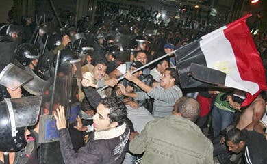 Egypt to face its first Tunisian-inspired protests