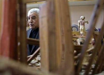 Some artifacts looted from Egypt museum recovered