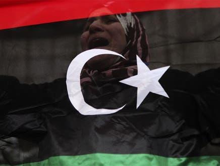 علم الملكية يرتفع في ليبيا للمطالبة بالعودة إلى عهد ما قبل القذافي