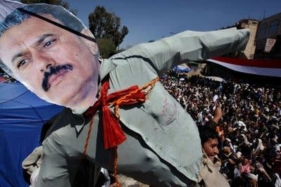 Yemen leader says protests aimed at splitting nation