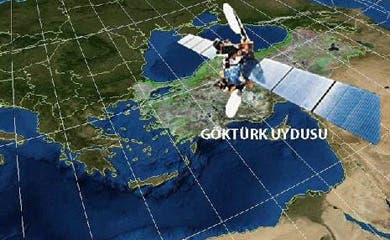 Turkish satellite to roll back Israel's turf veil