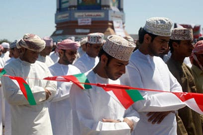 Omani army ends pro-reform sit-in