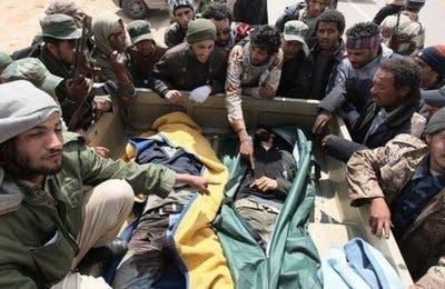 NATO probes Libya civilian deaths in coalition strike