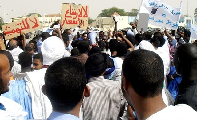 Protests stun Mauritania