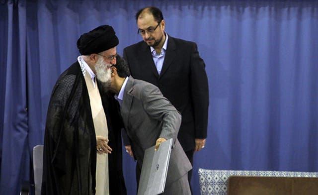 Ahmadinejad and Khamenei rift appears to widen in Iran