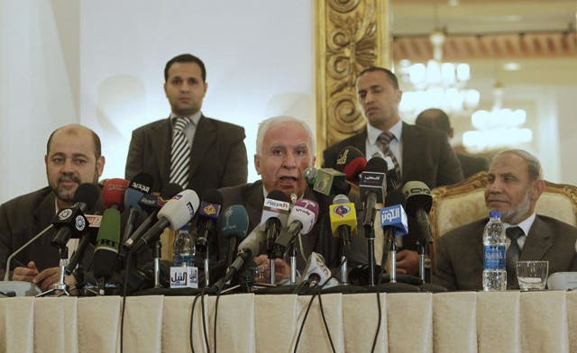 Israel and US question pact by Hamas and Fatah for unity government