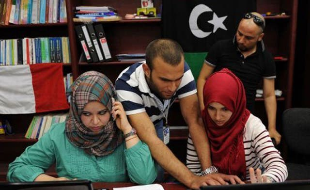 Libyan youth find new voices in the media