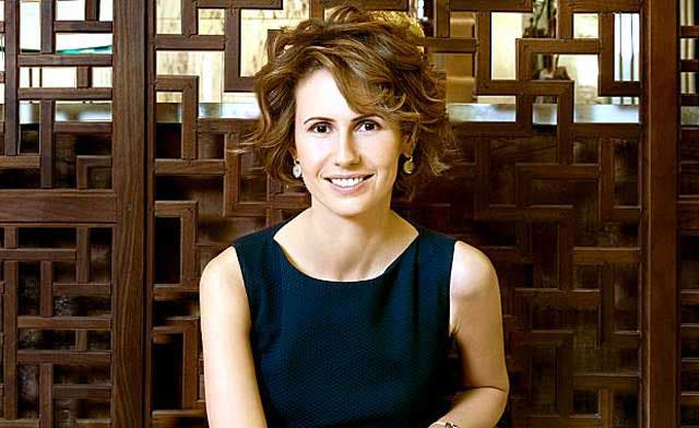 President Assad's wife, Asma, could be in London: report